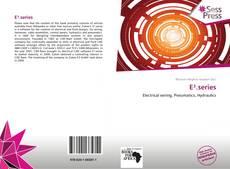 E³.series kitap kapağı