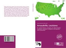 Couverture de Arnaudville, Louisiana