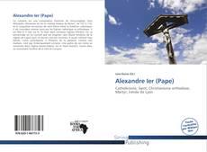 Bookcover of Alexandre Ier (Pape)