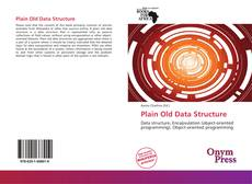 Capa do livro de Plain Old Data Structure