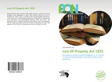 Bookcover of Law Of Property Act 1925