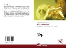 Обложка Hank Duncan