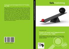 Bookcover of Trusts of Land and Appointment of Trustees Act 1996