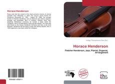 Обложка Horace Henderson