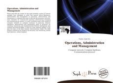 Portada del libro de Operations, Administration and Management
