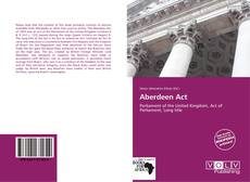 Bookcover of Aberdeen Act