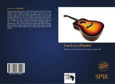 Portada del libro de Lou Levy (Pianist)