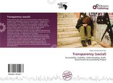 Bookcover of Transparency (social)
