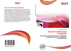 Capa do livro de Church of Panagia Chalkeon