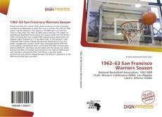 Bookcover of 1962–63 San Francisco Warriors Season