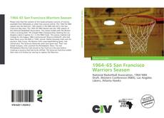Bookcover of 1964–65 San Francisco Warriors Season