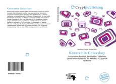 Konstantin Golovskoy kitap kapağı