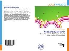 Portada del libro de Konstantin Zarechniy