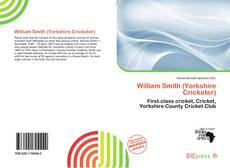 Bookcover of William Smith (Yorkshire Cricketer)