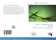 Bookcover of 2010–11 Rugby Pro D2 Season