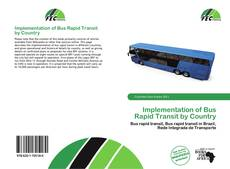 Capa do livro de Implementation of Bus Rapid Transit by Country