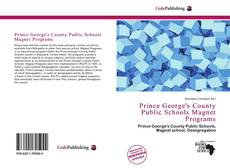 Bookcover of Prince George's County Public Schools Magnet Programs