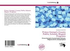 Prince George's County Public Schools Magnet Programs kitap kapağı
