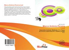 Bookcover of Marco António Pereira Leal