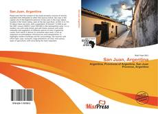 Bookcover of San Juan, Argentina