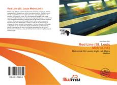 Portada del libro de Red Line (St. Louis MetroLink)