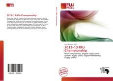 Bookcover of 2012–13 RFU Championship