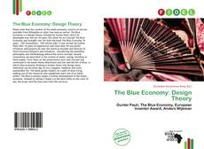 The Blue Economy: Design Theory的封面