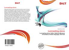 Bookcover of Lunnasting stone