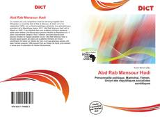 Abd Rab Mansour Hadi的封面