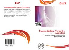 Bookcover of Thomas Walker (Yorkshire Cricketer)