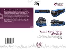 Bookcover of Toronto Transportation Commission