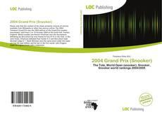 Buchcover von 2004 Grand Prix (Snooker)