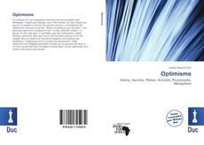 Bookcover of Optimisme