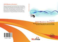 Bookcover of 2003 Masters (Snooker)