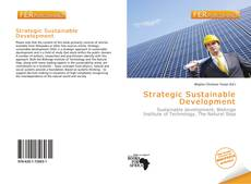 Buchcover von Strategic Sustainable Development