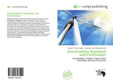Sustainability Standards and Certification的封面