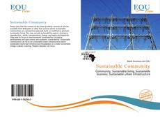 Portada del libro de Sustainable Community