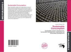 Bookcover of Sustainable Consumption