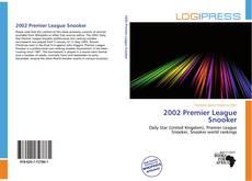 Portada del libro de 2002 Premier League Snooker