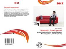 Capa do livro de Systemic Development