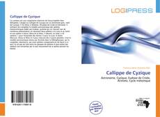 Bookcover of Callippe de Cyzique