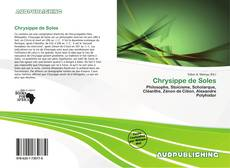 Capa do livro de Chrysippe de Soles