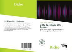 2012 Speedway Elite League kitap kapağı