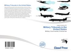 Portada del libro de Military Tribunals in the United States