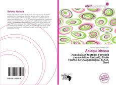 Seidou Idrissa kitap kapağı