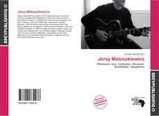 Jerzy Matuszkiewicz kitap kapağı
