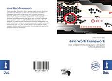 Capa do livro de Java Work Framework