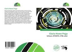 Portada del libro de Claris Home Page