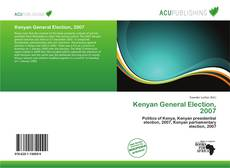 Bookcover of Kenyan General Election, 2007