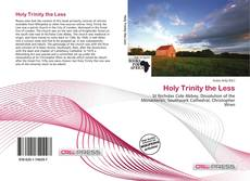 Bookcover of Holy Trinity the Less